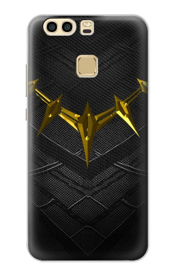 Printed Black Panther Inspired Costume Gold Necklace Huawei P9 Case