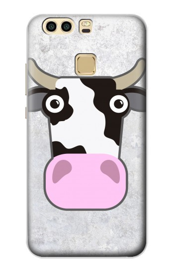 Printed Cow Cartoon Huawei P9 Case