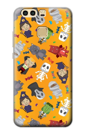 Printed Cute Halloween Cartoon Pattern Huawei P9 Case