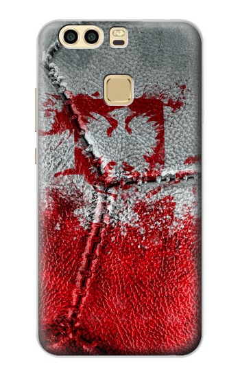 Printed Poland Flag Vintage Football 2018 Huawei P9 Case