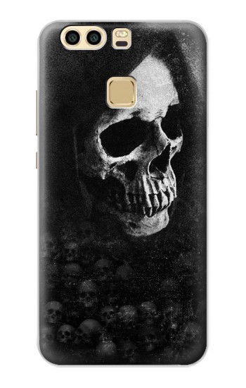 Printed Death Skull Huawei P9 Case