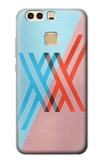 Printed Darling in the Franxx Huawei P9 Case