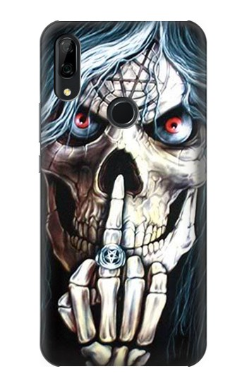 Printed Skull Pentagram Huawei P Smart Z Case