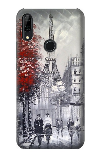 Printed Eiffel Painting of Paris Huawei P Smart Z Case