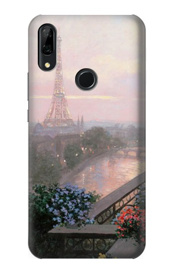 Printed Terrace in Paris Eifel Huawei P Smart Z Case