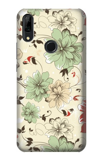 Printed Flower Floral Vintage Art Pattern Huawei P Smart Z Case
