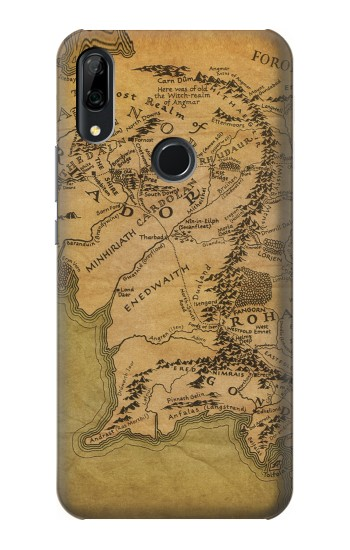 Printed The Lord Of The Rings Middle Earth Map Huawei P Smart Z Case