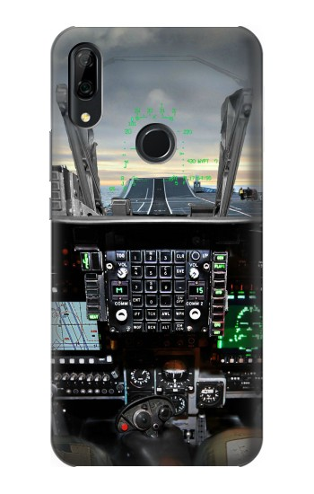 Printed Fighter Jet Aircraft Cockpit Huawei P Smart Z Case