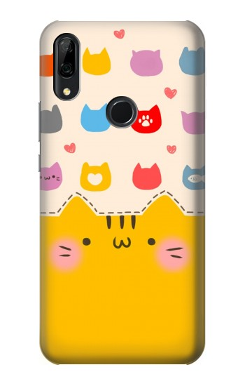 Printed Cute Cat Pattern Huawei P Smart Z Case
