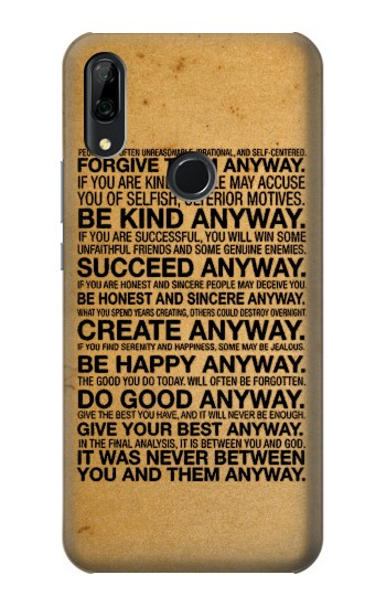 Printed Mother Teresa Anyway Quotes Huawei P Smart Z Case