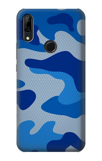 Printed Army Blue Camouflage Huawei P Smart Z Case