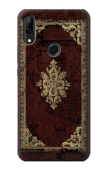 Printed Vintage Map Book Cover Huawei P Smart Z Case