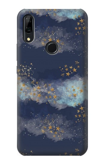Printed Gold Star Sky Huawei P Smart Z Case