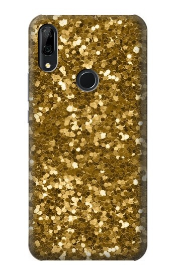 Printed Gold Glitter Graphic Print Huawei P Smart Z Case