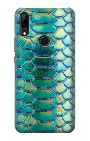 Printed Green Snake Scale Graphic Print Huawei P Smart Z Case