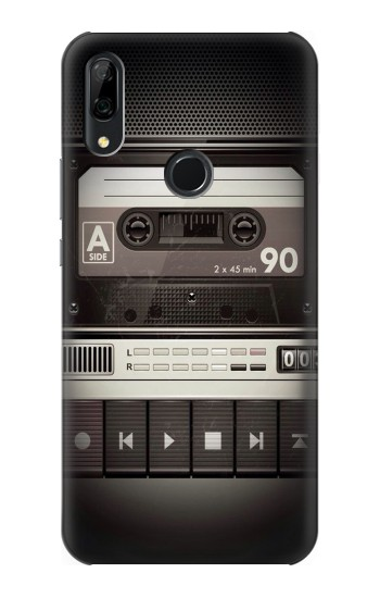 Printed Vintage Cassette Player Huawei P Smart Z Case