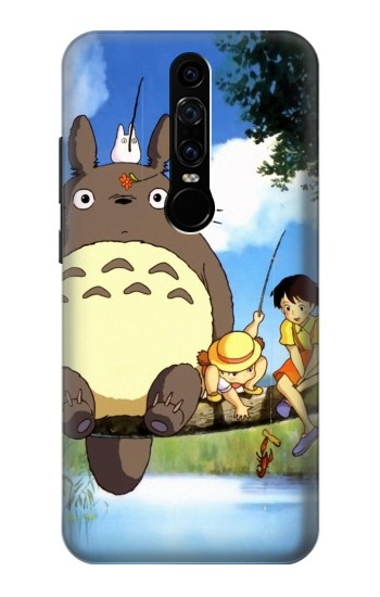 Printed Totoro and Friends Huawei Mate RS Porsche Design Case