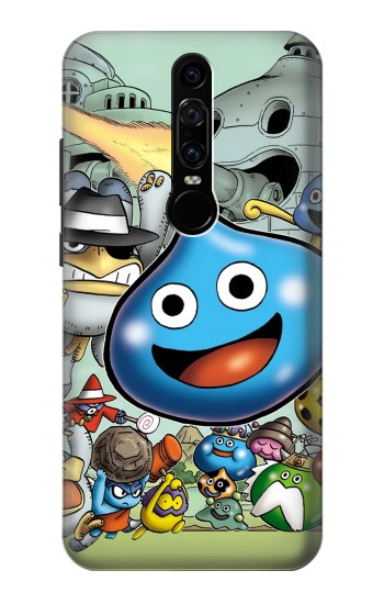 Printed Dragon Quest Slime Monster Huawei Mate RS Porsche Design Case