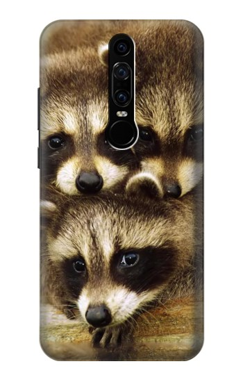 Printed Baby Raccoons Huawei Mate RS Porsche Design Case
