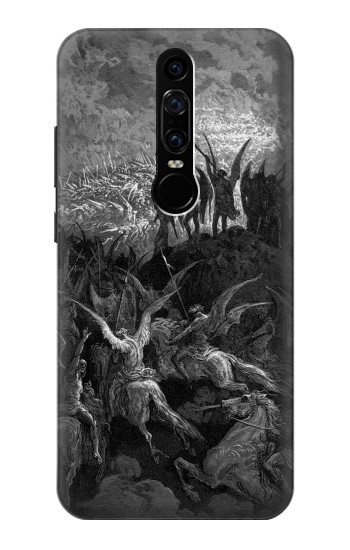 Printed Gustave Dore Paradise Lost Huawei Mate RS Porsche Design Case