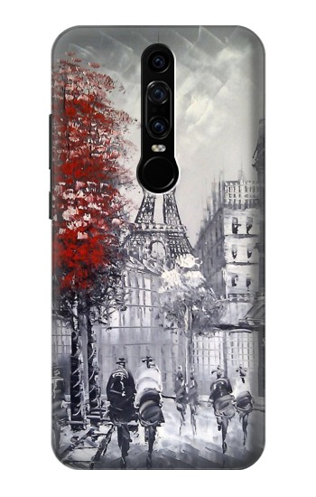 Printed Eiffel Painting of Paris Huawei Mate RS Porsche Design Case
