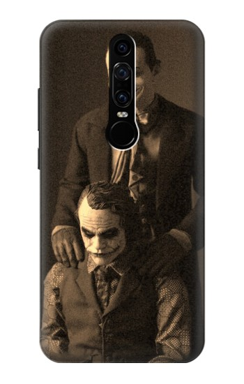 Printed Jokers Together Huawei Mate RS Porsche Design Case