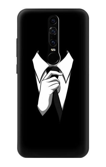Printed Anonymous Man in Black Suit Huawei Mate RS Porsche Design Case