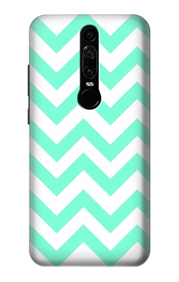Printed Mint Chevron Zigzag Huawei Mate RS Porsche Design Case