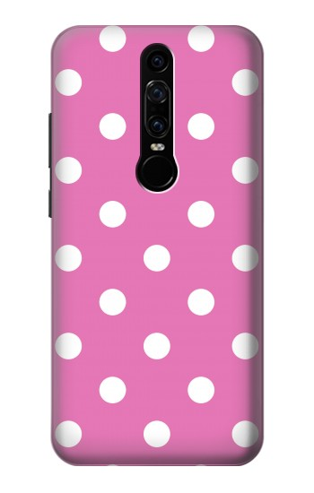 Printed Pink Polka Dots Huawei Mate RS Porsche Design Case
