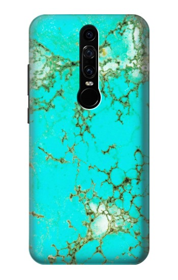 Printed Turquoise Gemstone Texture Graphic Printed Huawei Mate RS Porsche Design Case