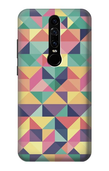 Printed Variation Pattern Huawei Mate RS Porsche Design Case