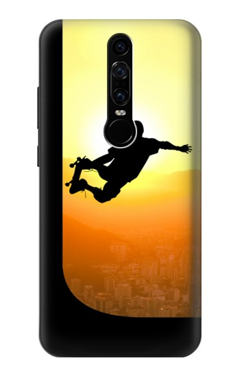 Printed Extreme Skateboard Sunset Huawei Mate RS Porsche Design Case