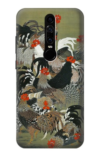 Printed Ito Jakuchu Rooster Huawei Mate RS Porsche Design Case