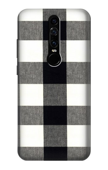 Printed Black and White Buffalo Check Pattern Huawei Mate RS Porsche Design Case