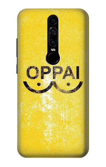 Printed Oppai One-Punch Man Symbol Huawei Mate RS Porsche Design Case