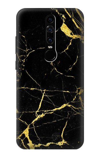 Printed Gold Marble Graphic Printed Huawei Mate RS Porsche Design Case
