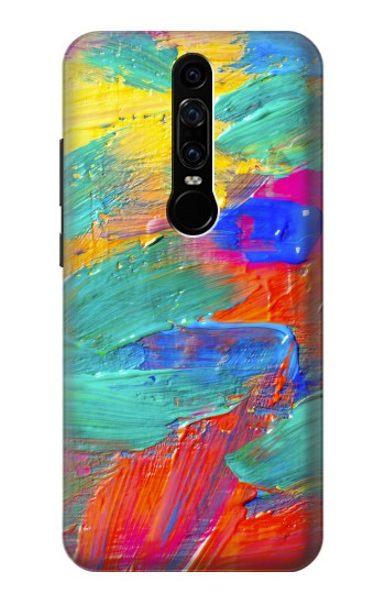 Printed Brush Stroke Painting Huawei Mate RS Porsche Design Case