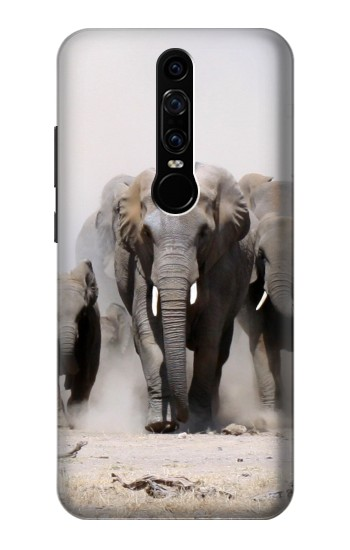 Printed African Elephant Huawei Mate RS Porsche Design Case