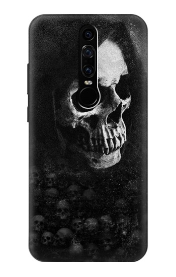 Printed Death Skull Huawei Mate RS Porsche Design Case