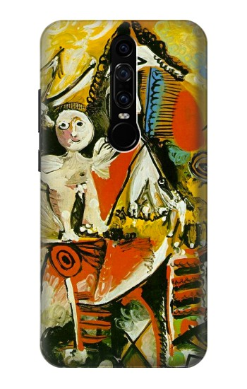 Printed Picasso Painting Cubism Huawei Mate RS Porsche Design Case