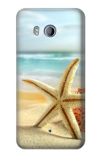 Printed Starfish on the Beach HTC Desire 530 Case