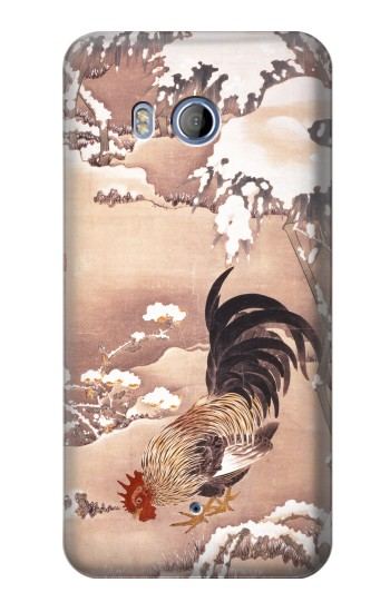 Printed Ito Jakuchu Rooster HTC Desire 530 Case