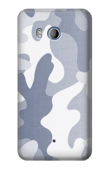 Printed Blue Camo Camouflage Graphic Printed HTC Desire 530 Case