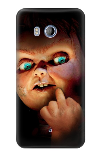 Printed Chucky Middle Finger HTC Desire 530 Case