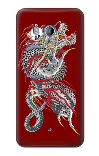 Printed Yakuza Dragon Tattoo HTC Desire 530 Case
