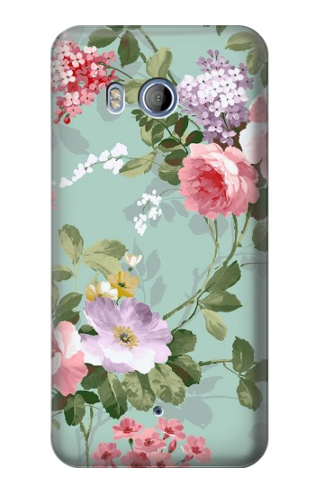 Printed Flower Floral Art Painting HTC Desire 530 Case