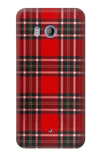 Printed Tartan Red Pattern HTC Desire 530 Case