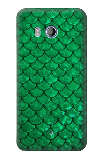 Printed Green Fish Scale Pattern HTC Desire 530 Case