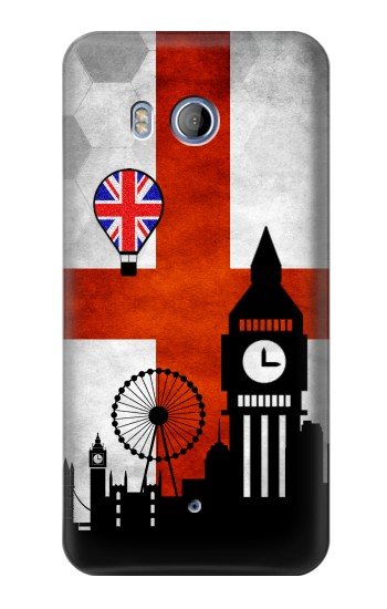 Printed England Football Flag HTC Desire 530 Case