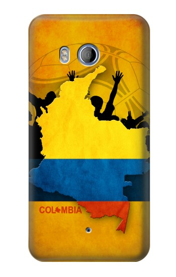 Printed Colombia Football Flag HTC Desire 530 Case
